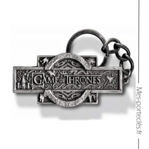 Porte-clés en métal Game of Thrones