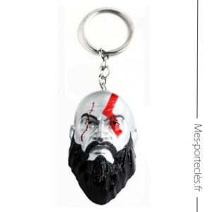 Porte-clés en métal God of War – Kratos